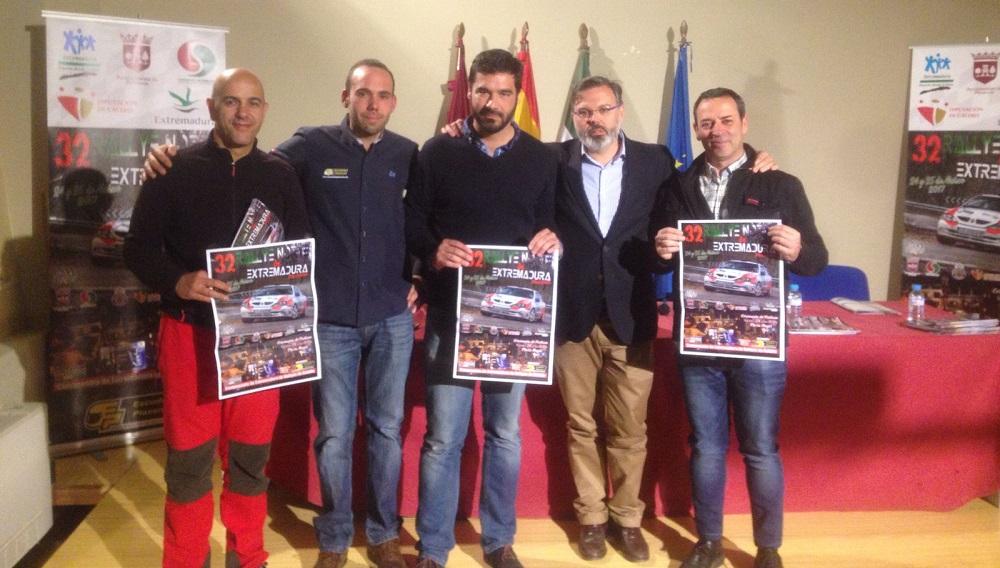 Presentación - El 32º Rallye Norte de Extremadura va tomando forma