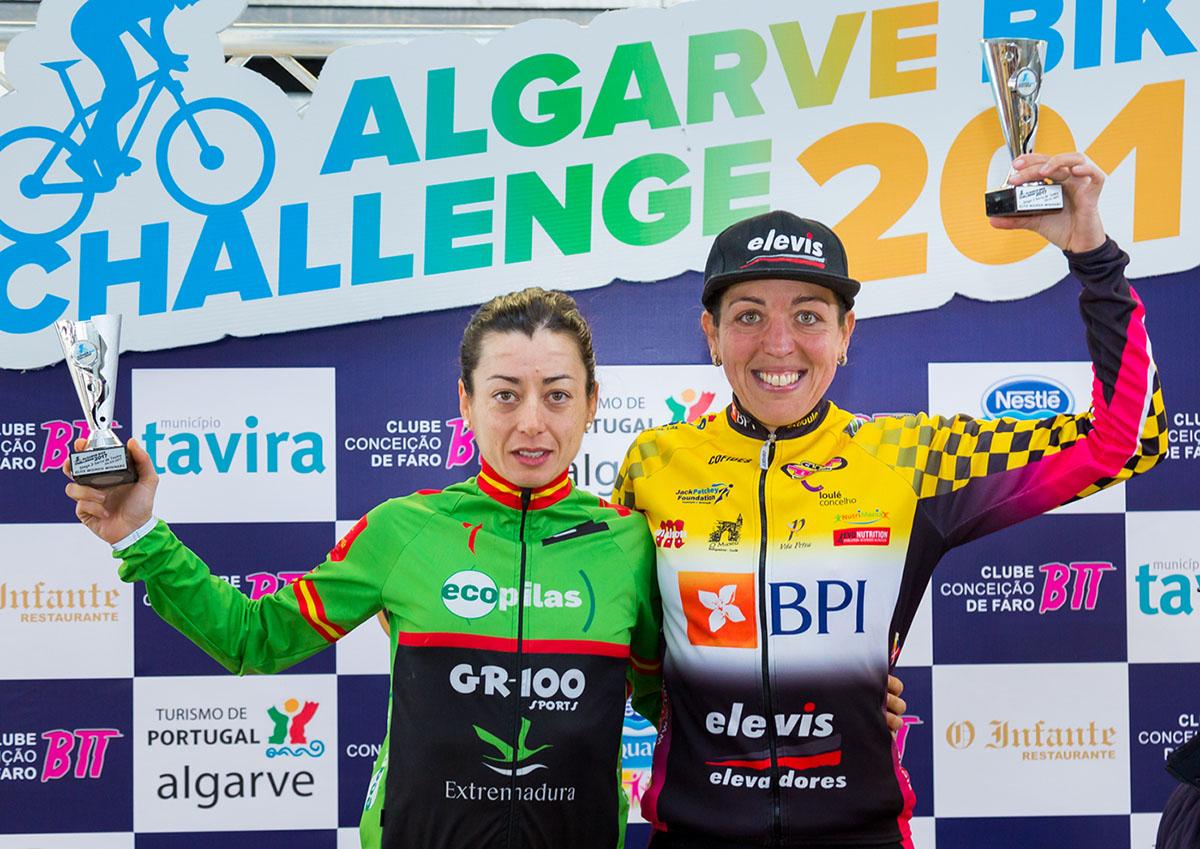 Susana Alonso y Celina Carpinteiro subcampeonas finales en Algarve Bike Challenge