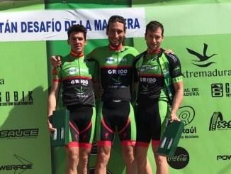 Triplete del Extremadura Ecopilas en el Desafío de la Magrera de Hornachos con victoria para Pedro Romero