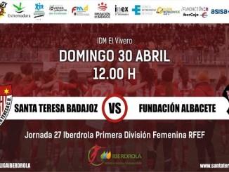 El Santa Teresa Badajoz y Albacete miden sus intereses en El Vivero