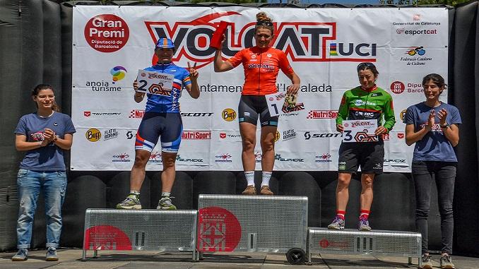 Tercer puesto para Susana Alonso en el inicio de la VolCAT