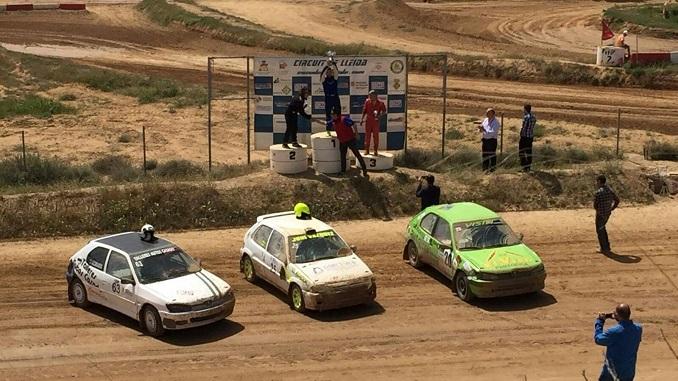 Victoria de Vázquez y tercer puesto de Casado en el XIX Autocross Ciutat de Lleida