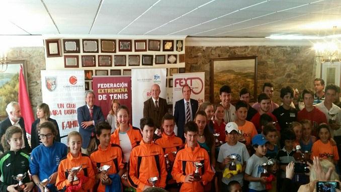 Magnífico fin de semana de competición con la celebración de las finales de los Judex de Tenis