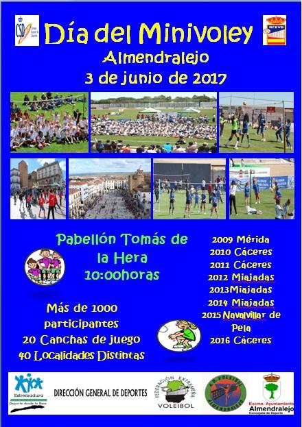 Escuelas de Minivoley de Extremadura