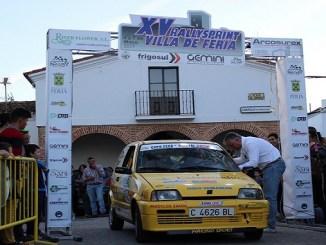 Cuarto puesto de Ainoa de la Osa y Mari Márquez en el XV Rallysprint Villa de Feria