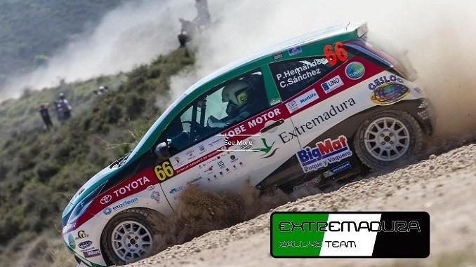 El Extremadura Rallye Team estrena sitio web