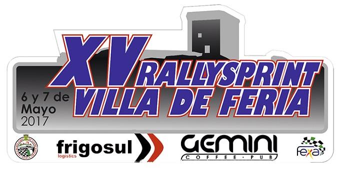 Este fin de semana se disputa el XV Rallysprint Villa de Feria