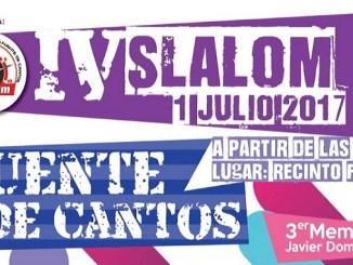 El IV Slalom Fuente de Cantos marca el ecuador del campeonato
