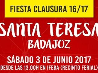 El Santa Teresa Badajoz pone fin a la temporada con la Fiesta de Clausura en IFEBA