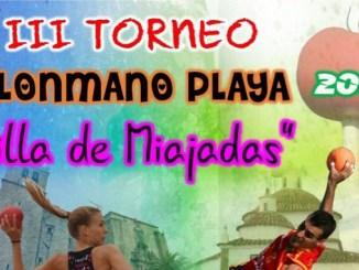 III edición del Torneo de balonmano playa Villa de Miajadas