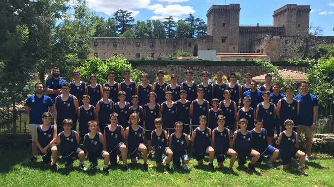 Éxito en el IX Campus de verano Baloncesto Ciudad de Badajoz celebrado en Jarandilla de la Vera