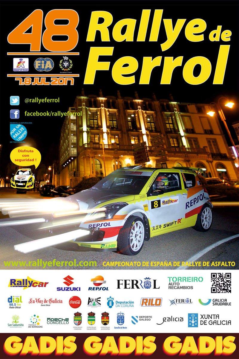 48 Rallye de Ferrol 2017