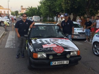Antonio José Zambrana Asencio y Manuel Soler González - Buenos resultados para los extremeños en el V Rallye Sliks Sevilla