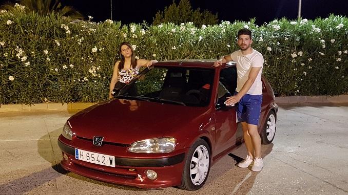 Inés García y Jonathan Vázquez