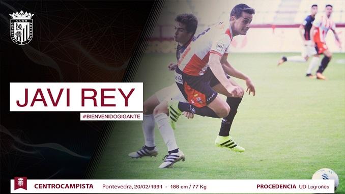 Javi Rey, nuevo jugador del Club Deportivo Badajoz