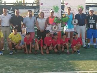 La suiza Lisa Sabino se corona por segunda vez en el II Torneo Internacional de Tenis Femenino Ciudad de Don Benito