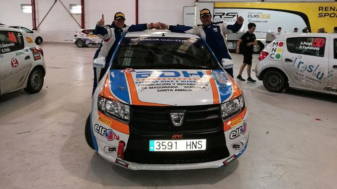 Reyes y Espinar - Un segundo y un tercer puesto con sabor extremeño en el 48 Rallye de Ferrol