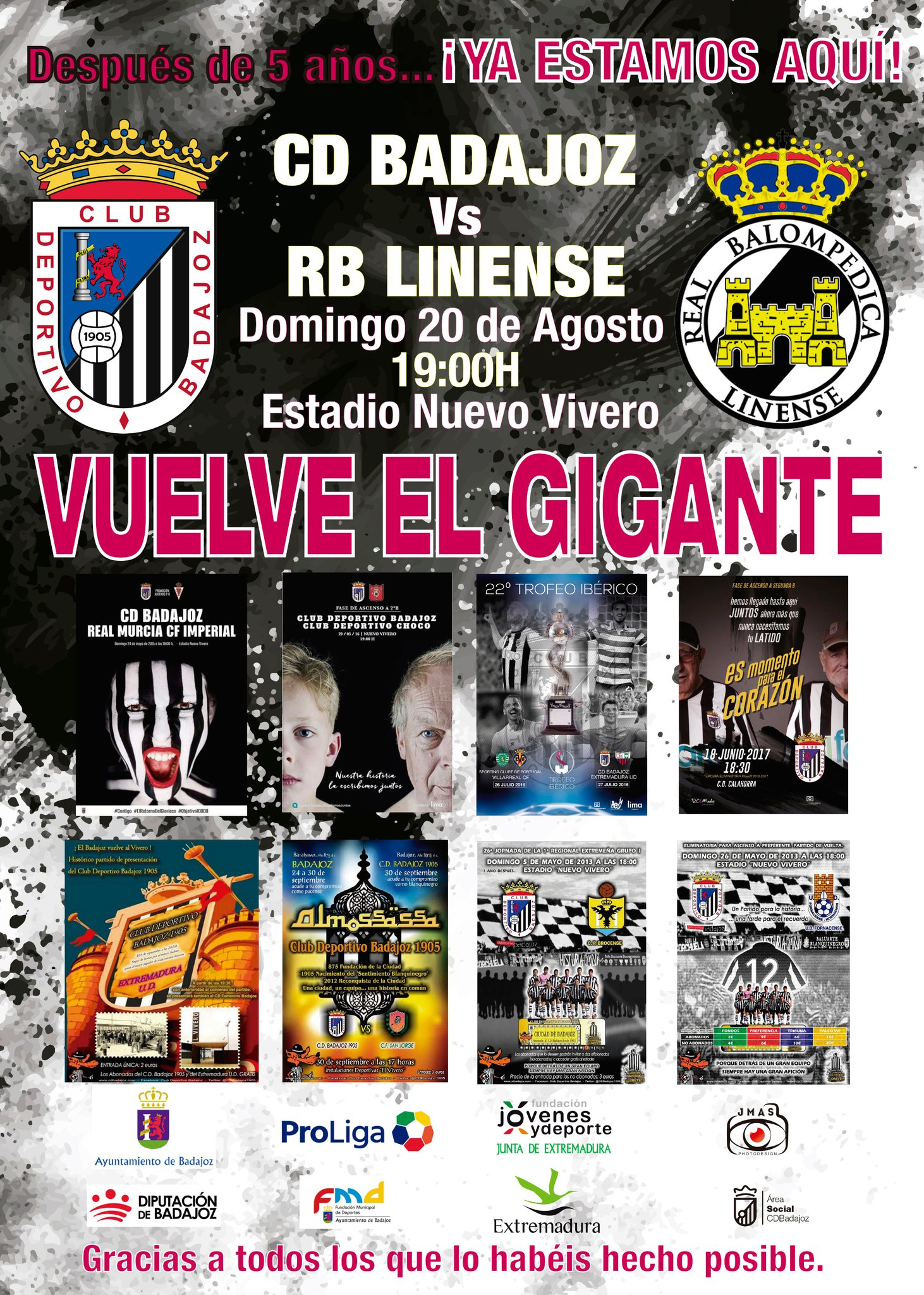 CD Badajoz vs RB Linense