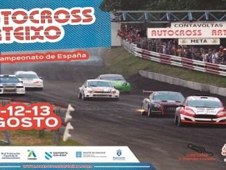 Notable afluencia extremeña en el Autocross de Arteixo