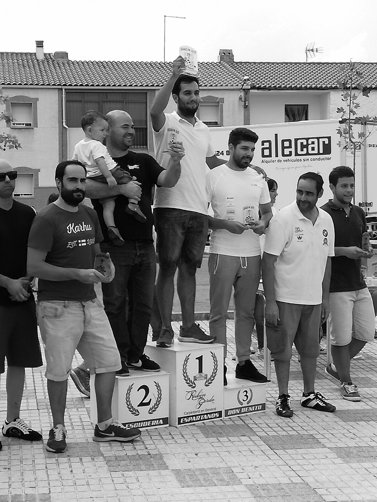 Triplete de Ráfagas Racing en el I Slalom Hernán Cortés