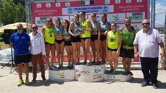 V Open de Balonmano Playa 'Memorial Manuel Álvarez Hurtado' de Alburquerque