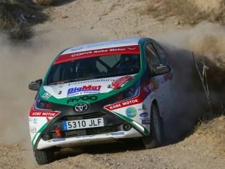 Desigual suerte para el Extremadura Rallye Team en el XVIII Rallye de Tierra Ciudad de Cervera