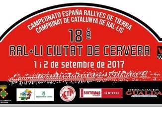 Extremeños en el XVIII Rallye de Tierra Ciudad de Cervera