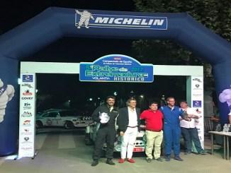 Manuel Casimiro y Ángel Luis Álvarez - Resultados del competido V Rallye de Extremadura Histórico