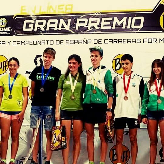 Álvaro García tercero en la cuarta prueba de la Copa de España de Carreras por montaña