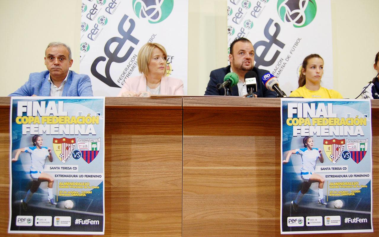 El Francisco de la Hera recibe la Final de Copa Femenina (6)