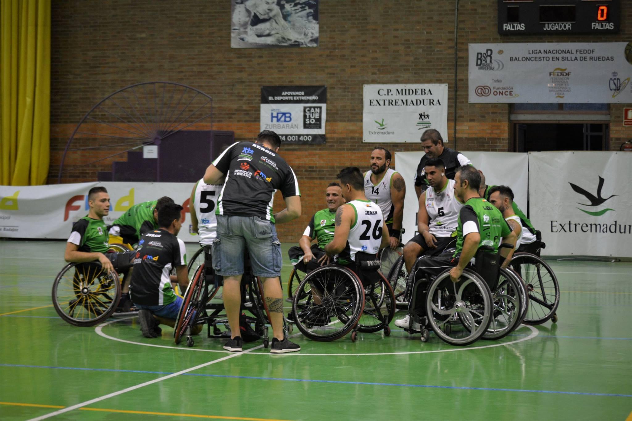 El Mideba Extremadura quiere resarcirse en casa ante Amivel