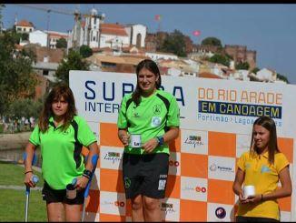 Elena Ayuso consiguió la primera posición en Portugal