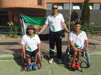 Extremadura consigue el cuarto puesto en el Campeonato de España por Comunidades Autónomas de tenis en silla de ruedas