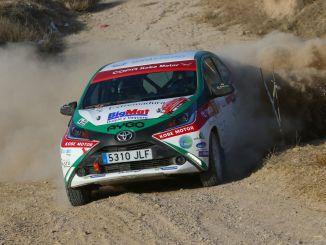 La Copa Kobe entra en su fase decisiva para el ERT en el VIII Rallye Norte de Extremadura