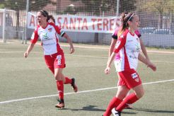 Reparto de puntos entre Santa Teresa Badajoz - Madrid CFF en un partido intenso (1)