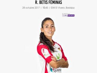 Jornada 7   Santa Teresa Badajoz vs Real Betis Féminas   Liga Iberdrola