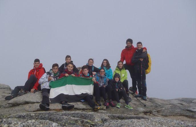 Primeras Jornadas de Jóvenes Alpinistas Extremeños en la Sierra de Bejar