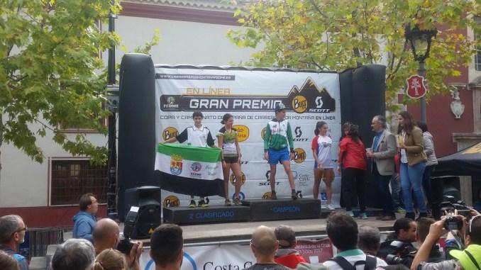 Álvaro García subcampeón de la Copa de España en categoría cadetes de Carreras por Montaña