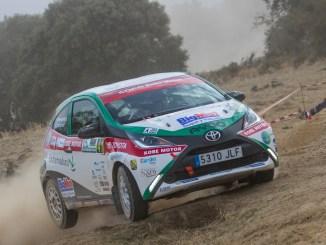 Asalto final del Extremadura Rallye Team a la Copa Kobe en el Rallye Ciudad de Pozoblanco