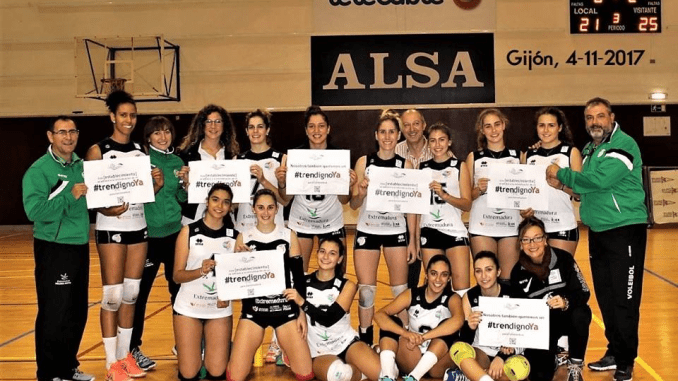 El Extremadura Arroyo se suma a la petición de un tren digno para la región