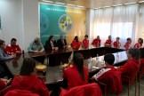 El Rector de la Universidad de Extremadura recibe al Santa Teresa Badajoz (3)