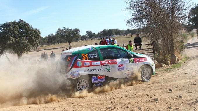 Montes y Collado - El Extremadura Rallye Team cierra su participación en la Copa Kobe con notable en el