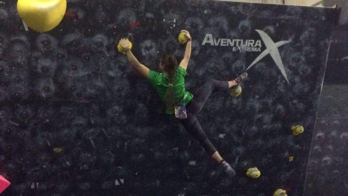 Resultados de la última prueba del Campeonato de Extremadura de Boulder