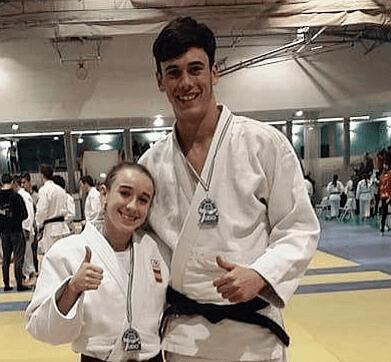 Plata para el judoka pacense Borja Trevijano en la Copa de España Junior de Asturias