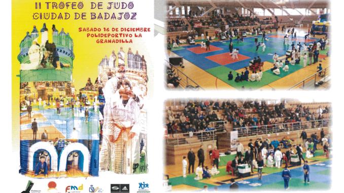 II Trofeo de Judo Ciudad de Badajoz 2017
