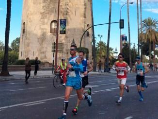 Juan Domingo Gómez octavo en el EDP Medio Maratón de Sevilla