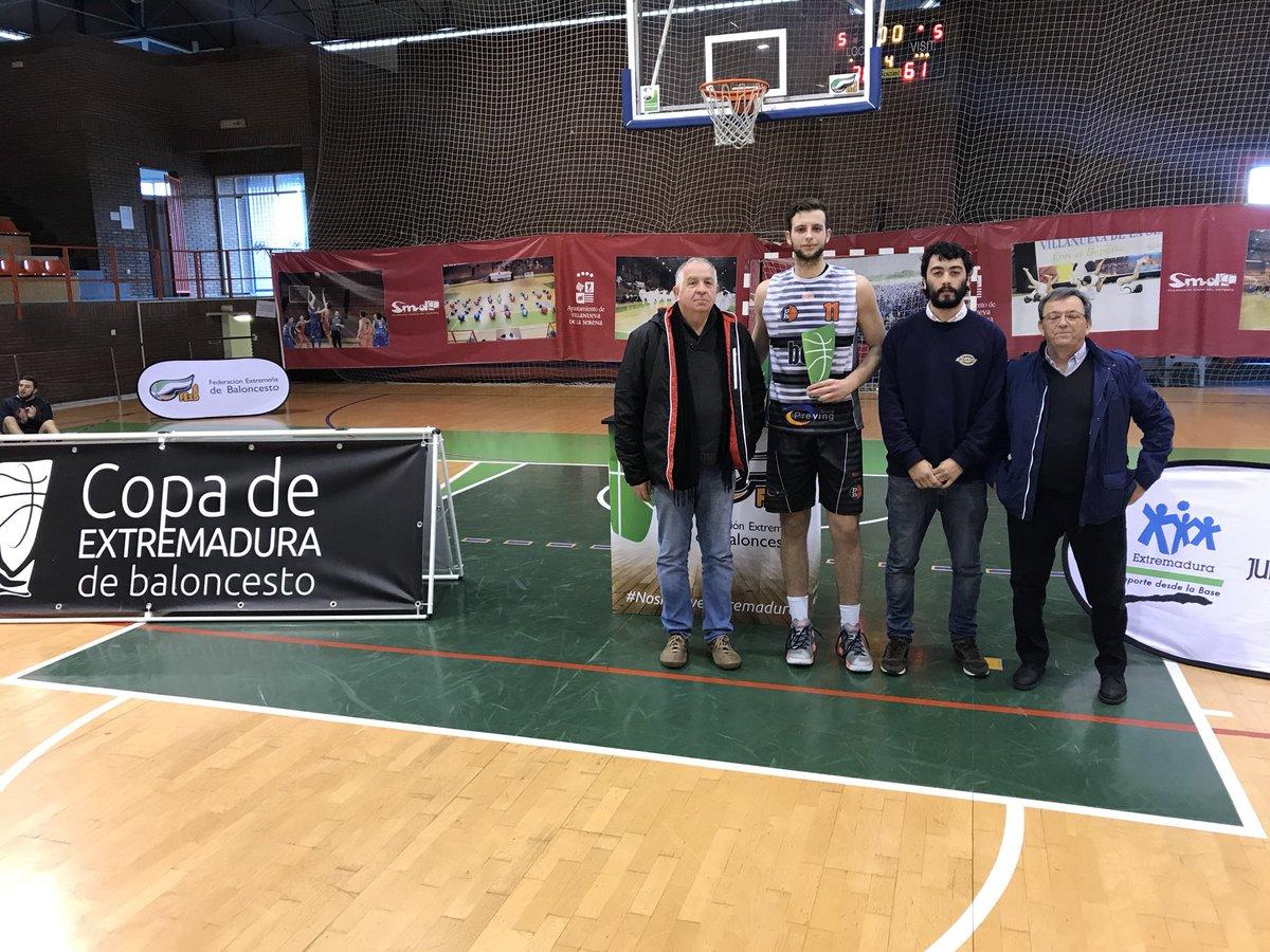 Carpi MVP - Copa de Extremadura 2018