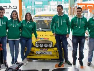 Comienza la temporada 2018 para el Extremadura Rallye Team
