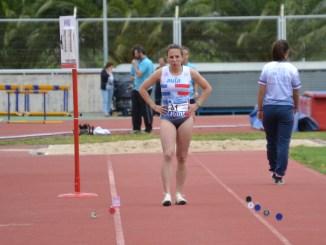 Lucía Sánchez Aranda bate otro récord de Extremadura Absoluto en pista cubierta en Longitud