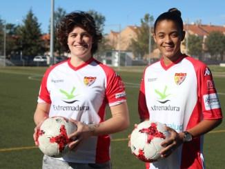 Marina Agoües y Alexyar Cañas llegan al Santa Teresa Badajoz como todo un reto